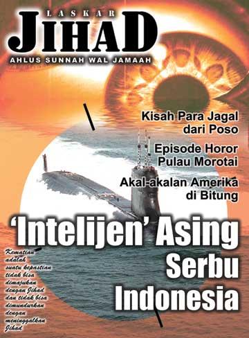 Numéro d'octobre 2002 du magazine du Laskar Jihad.