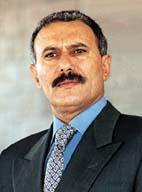Ali Abdullah Saleh, président du Yémen.